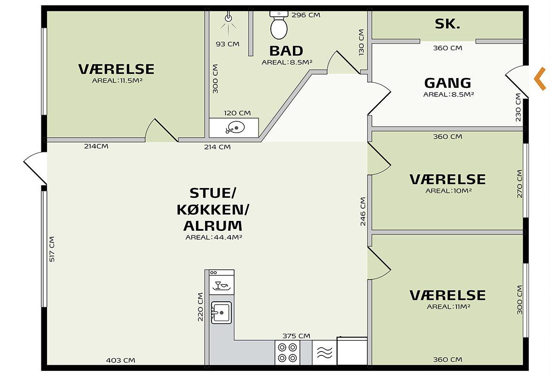 indretningsplan græsgangen 106Vv2