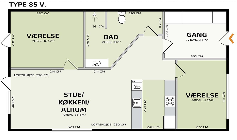 indretningsplan græsgangen 85Vv2